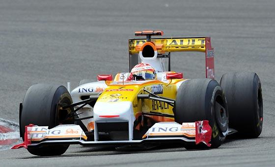 El piloto español Fernando Alonso (Renault).  Foto: Afp Photo / Reuters / Efe
