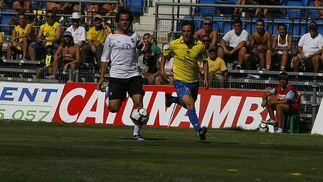 López Silva, el más activo en ataque.   Foto: Lourdes de Vicente y Joaquin Hernandez Kiki