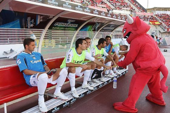 El Xerez se estrena con derrota en Primera División tras caer ante el Mallorca (2-0).   Foto: Juan Carlos Toro