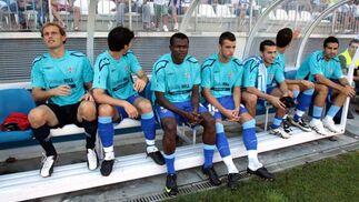 Partido de la Liga 2009 del Mágala C.F - Atlético de Madrid. /Migue Fernández