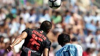 Partido de la Liga 2009 del Mágala C.F - Atlético de Madrid.