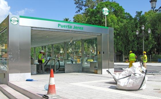 Entrada principal de la estación que abrirá sus puertas el miércoles 16 de septiembre.  Foto: Manuel Gómez