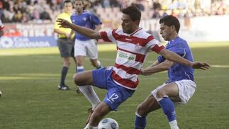 El Granada continúa con su racha en casa y golea al Écija. / Miguel Rodríguez