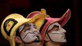 Comparsa 'Los salvapatrias'  Foto: Jesus Marin