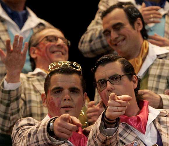 Coro 'Mirando por Cádiz'  Foto: Jesus Marin