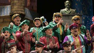 El coro 'El batallón de la libertad'  Foto: Jesus Marin/Lourdes de Vicente