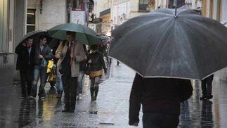 Las lluvias remitirán este fin de semama pero volverán a partir del próximo lunes.  Foto: Victoria Hidalgo