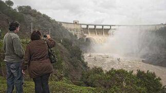 Los pantanos de El Gergal y de Zufre están llenos, Aracena está al 91% y la Minilla al 76%  Foto: Manuel Gómez