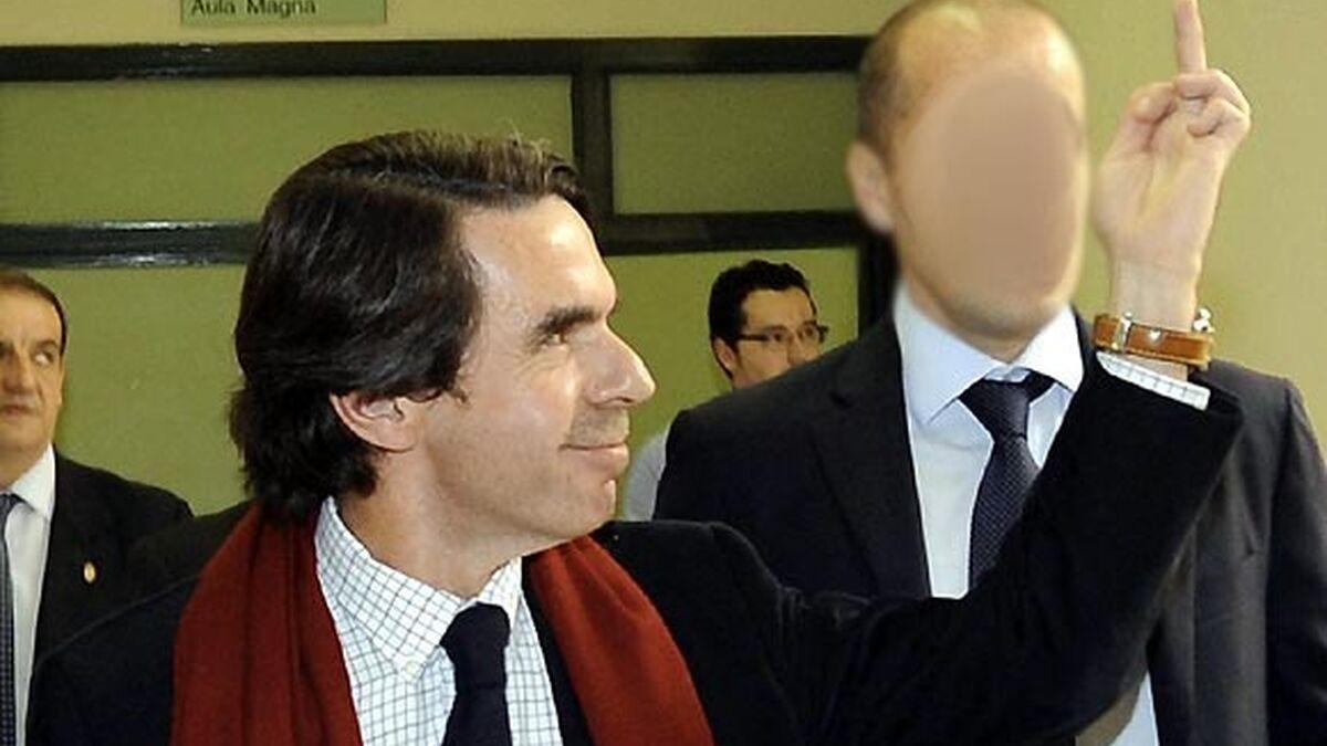 """Aznar sobre la 'peineta': """"Con los descarados, la respuesta debe ser  descarada"""""""