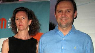 Rocío Molina y Javier Molina, presidente de Befesa.  Foto: Victoria Ramírez