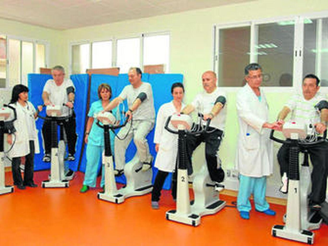 La rehabilitación cardíaca estimula la vida del paciente