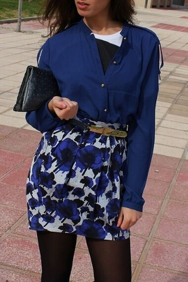 Blue day - Outfit