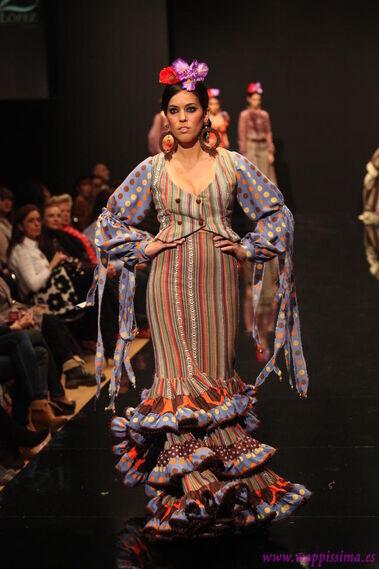 Colección: Sueños de Turqía - Pasarela Flamenca 2011