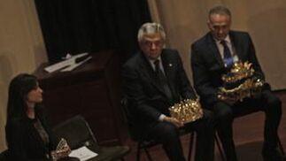 José Perez Bernal agradece su proclamación como Rey Melchor.  Foto: B. Vargas