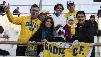 El Cádiz no estuvo solo en Lorca.   Foto: Pascu Mendez (LOF)