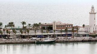 Imagen del Muelle Uno el día que permaneció cerrado al público