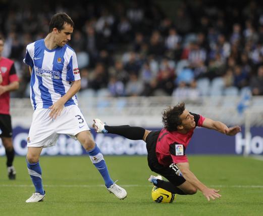 La Real Sociedad gana al Málaga tras una espectacular remontada (3-2)  Foto: Javier Etxezarreta / Efe
