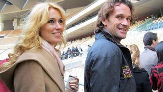 Carolina Cerezuela y su marido, el tenista Carlos Moyá.  Foto: Victoria Ramírez