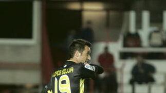 El Córdoba empata ante Tarragona pese a acabar con uno menos (0-0). / LOF