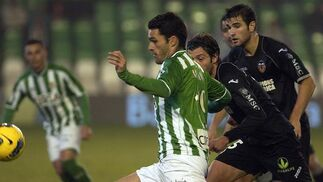 Así transcurrió el Real Betis-Valencia.  Foto: Manuel Gómez
