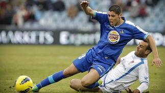 El Granada se trae una derrota injusta de Getafe (1-0). / EFE