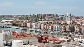 Imagen del puerto de Santander