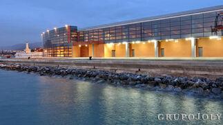 Terminal de cruceros del puerto de Málaga