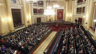Sesión constitutiva del Senado.  Foto: EFE