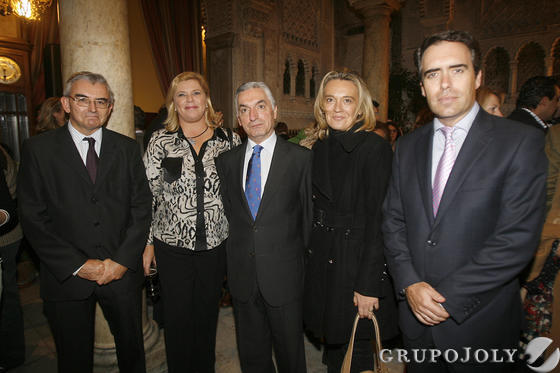 José Joaquín León, Elena Palomino, José Luis Medina, Paloma Bordons y Rafael Navas  Foto: Joaquin Pino