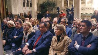 Teófila Martínez, José Loaiza, Mercedes Colombo, Tomás Valiente, Teresa Ruiz Sillero e Ignacio Romaní  Foto: Joaquin Pino