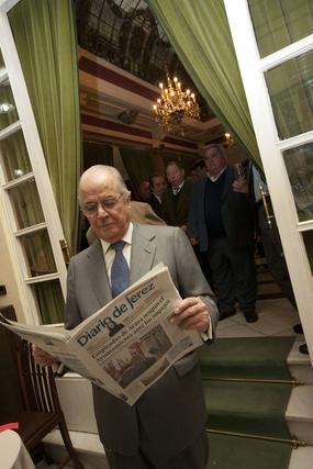 Diario de Jerez acercó la prensa de la ciudad a la capital  Foto: Alberto Morales