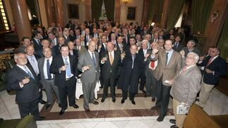 El Casino Militar de Madrid acogió la XXVI Berza de Navidad de Jerezanos en la Diáspora, que reunió a más de 150 paisanos en la capital de España  Foto: Alberto Morales