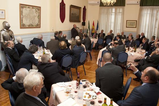 Vista parcial del salón donde se celebró el acto.   Foto: Alberto Morales