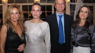 Carmen Fabián, Concha López, Eduardo Fatou y Toni Cerrato.  Foto: Victoria Ramírez