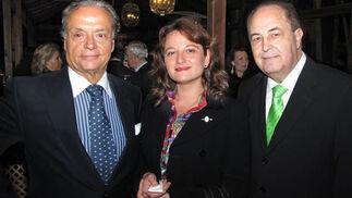 Manuel Loreto, María José Muñoz Romero y Miguel Ángel Trelles.  Foto: Victoria Ramírez