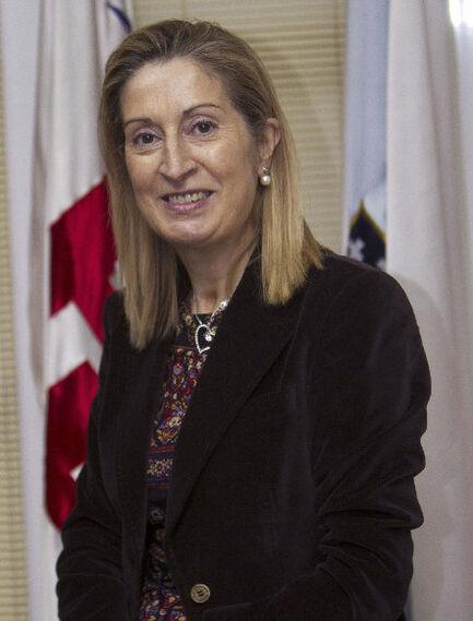 Ana Pastor, ministra de Fomento  Foto: EFE