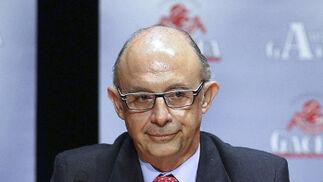 Cristóbal Montoro, ministro de Hacienda y Administraciones Públicas  Foto: EFE