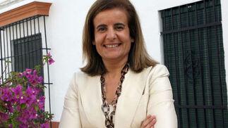 Fátima Bánez, ministra de Empleo y Seguridad Social  Foto: Espinola