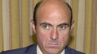 Luis de Guindos, ministro de Economía y Competitividad  Foto: EFE