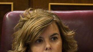 Soraya Sáenz de Santamaría, vicepresidenta, portavoz del Gobierno y ministra de Presidencia  Foto: Reuters