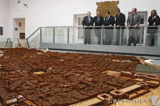 El museo de Las Cortes abre de nuevo sus puertas.   Foto: Lourdes de Vicente