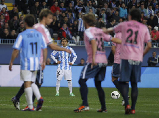 El equipo de Pellegrini empata en casa ante el Getafe pero pasa a octavos gracias a su victoria a domicilio en el partido de ida.   Foto: Sergio Camacho