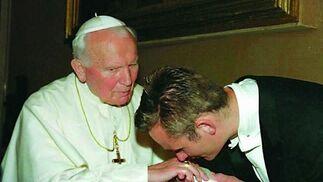 Encuentro en el Vaticano.  Foto: EFE