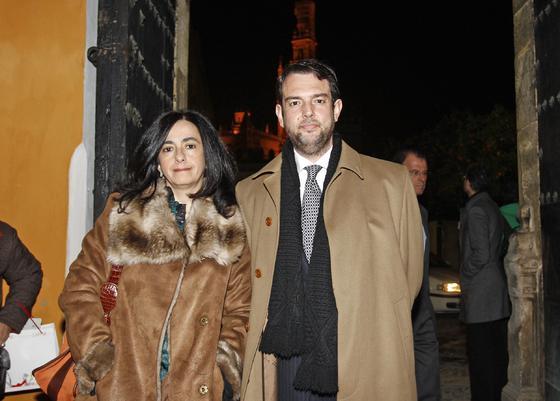 Pilar Parra y Antonio Somé, director general de Persán.   Foto: Antonio Pizarro / Juan Carlos Vázquez / Victoria Hidalgo / Manuel Gómez