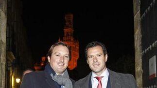 Carlos López Mariano y José María Pérez, socios de Garrigues.  Foto: Antonio Pizarro / Juan Carlos Vázquez / Victoria Hidalgo / Manuel Gómez