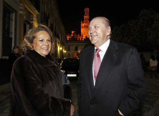 Concha Yoldi, presidenta de la Fundación Persán, y José Moya Sanabria, presidente de Persán.   Foto: Antonio Pizarro / Juan Carlos Vázquez / Victoria Hidalgo / Manuel Gómez