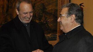 El alcalde de Sevilla, Juan Ignacio Zoido, junto al arquitecto Guillermo Vázquez Consuegra.  Foto: Antonio Pizarro / Juan Carlos Vázquez / Victoria Hidalgo / Manuel Gómez
