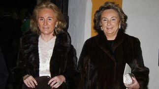 Las hermanas Margarita y María del Carmen Moya Sanabria.  Foto: Antonio Pizarro / Juan Carlos Vázquez / Victoria Hidalgo / Manuel Gómez