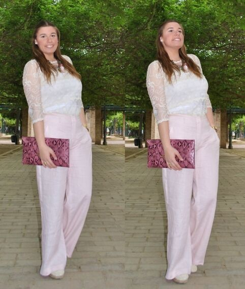 PINK TROUSERS - Outfit