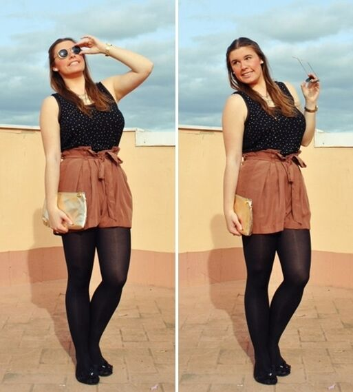 Brown and Black - Outfit